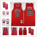 Basketball Chicago Bulls Mitchell & Ness Red Hardwood Classics Authentic Jersey