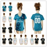 Women 2017-2018 Soccer Club Real Madrid Jerseys