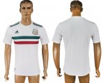 Custom Mexico 2018 World Cup Soccer Jersey White Short Sleeves
