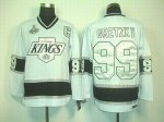 nhl los angeles kings #99 gretzky white [2012 stanley cup]