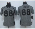 women jerseys nike nfl denver broncos #88 thomas gridiron gray limited