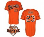 mlb baltimore orioles #23 cruz orange [60 th]