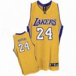 kids Los Angeles Lakers #24 Kobe Bryant yellow