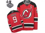 nhl new jersey devils #9 parise red and black [2012 stanley cup]