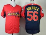 mlb toronto blue jays #56 buehrle red-blue [2014 all star jersey