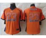 nike women nfl chicago bears #23 fuller orange [Elite drift fash