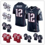 Football New England Patriots Stitched Game Jerseys