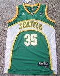 nba seattle supersonics #35 durant green [m&n]