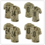 Football Chicago Bears Stitched Camo Salute to Service Limited Jersey