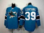 nhl san jose sharks #39 couture blue [2014 new stadium]