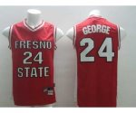 nba indiana pacers #24 george red jerseys