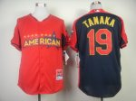 mlb new york yankees #19 tanaka red-blue [2014 all star jerseys]