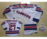 nhl new york rangers #27 mcdonagh white [2014 stanley cup]