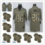 Football Philadelphia Eagles Limited Olive Camo 2017 Salute to Service Jersey