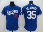 Men's Los Angeles Dodgers #35 Cody Bellinger Royal 2020 Stitched Baseball Jersey