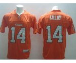 cfl jerseys #14 lulay orange