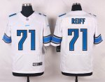 nike detroit lions #71 reiff elite white jerseys