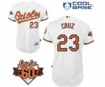 mlb baltimore orioles #23 cruz white [60 th]