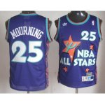 nba 95 all star #25 mourning purple jerseys