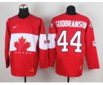 nhl team canada #44 gudbranson red [2014 world championship]