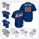 Custom New York Mets Any Player Name and Number Cheap Jerseys