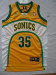 nba seattle supersonics #35 durant yellow [m&n]