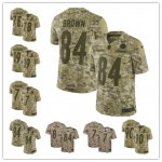 Football Pittsburgh Steelers Stitched Camo Salute to Service Limited Jersey