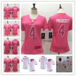 Football Dallas Cowboys Stitched Women Vapor Untouchable Limited Jerseys