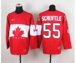 nhl team canada #55 scheifele red [2014 world championship]