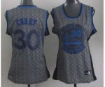 women nba golden state warriors #30 curry grey [static fashion s