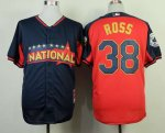 mlb san diego padres #38 ross blue-red [2014 all star jerseys]