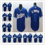 Baseball Los Angeles Dodgers Royal and Light Blue 2018 Players Weekend Cool Base Jersey