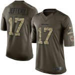 nike chicago bears #17 jeffery army green salute to service limi