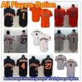 Baseball Houston Astros All Players Option Stitched Flex Base Jersey