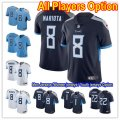 Football Tennessee Titans All Players Option Stitched New 2018 Jersey