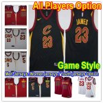 Basketball Cleveland Cavaliers All Players Option Swingman Icon Edition Jersey- Game Style