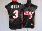 Kids Miami Heat #3 Wade black