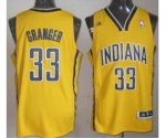 nba indlana pacers #33 granger yellow [revolution 30 swingman]