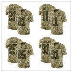 Football Washington Redskins Stitched Camo Salute to Service Limited Jersey