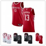 Basketball Houston Rockets #13 James Harden #3 Chris Paul Jersey Player Edition