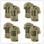 Football Philadelphia Eagles Stitched Camo Salute to Service Limited Jersey