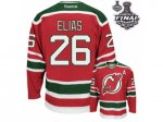 nhl new jersey devils #26 elias red and green [2012 stanley cup]