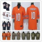 Football Chicago Bears #10 Mitchell Trubisky Jersey