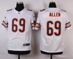 nike chicago bears #69 allen white elite jerseys