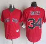 mlb jerseys boston red sox #34 Ortiz Red New Cool Base Stitched