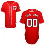 customize mlb washington nationals jersey red 2011 cool base bas