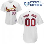 customize mlb st louis cardinals jersey white home cool base bas