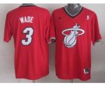 nba miami heat #3 wade red [2013 Christmas edition]