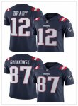 Football New England Patriots Navy Color Rush Vapor Untouchable Limited