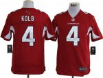 nike nfl arizona cardinals #4 kolb red cheap jerseys [game]